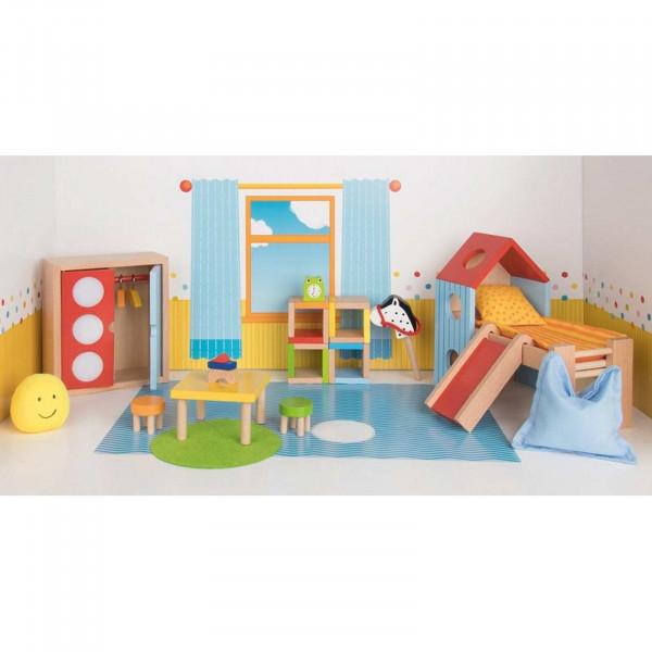 GoKi Puppenmöbel Kinderzimmer Puppenhausmöbel