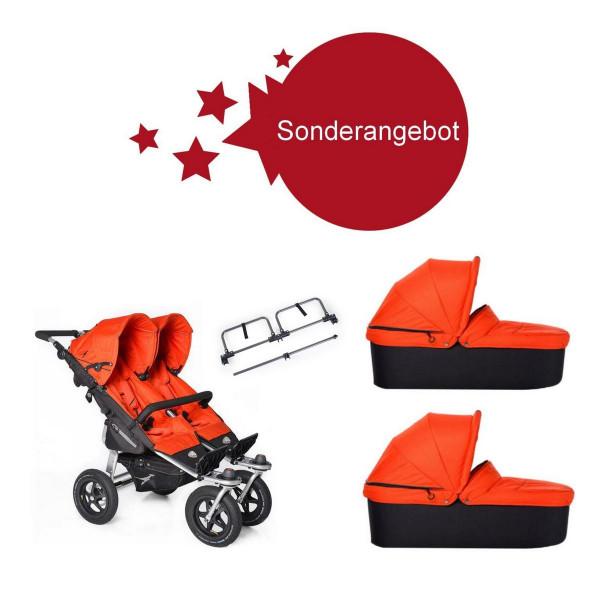 TFK Sonderangebot- Twin Adventure Zwillingskinderwagen