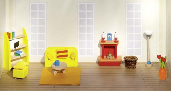 GoKi Puppenmöbel Wohnzimmer Puppenhausmöbel