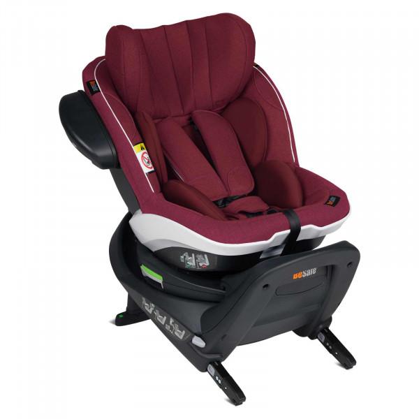 BeSafe iZi Twist i-Size Kindersitz - Burgundy Melange