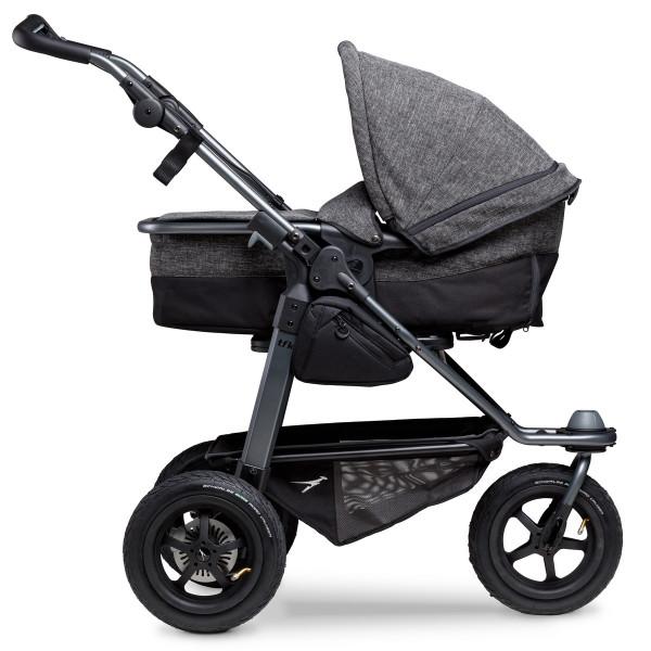 TFK Mono Kombi Kinderwagen mit Luftrad-Set- Premium Anthrazit