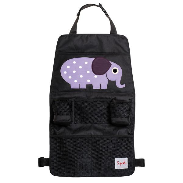 Rücksitz Organizer von 3 Sprouts elefant