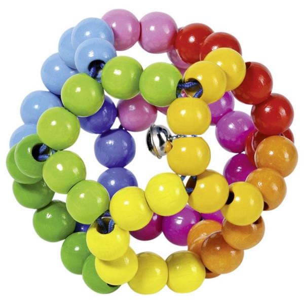 GoKi Greifling Elastik - Regenbogenball