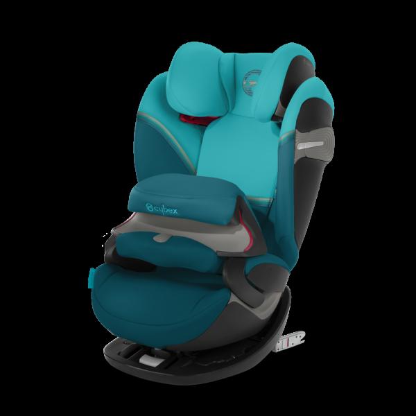 Cybex Pallas S-Fix Kindersitz - River Blue