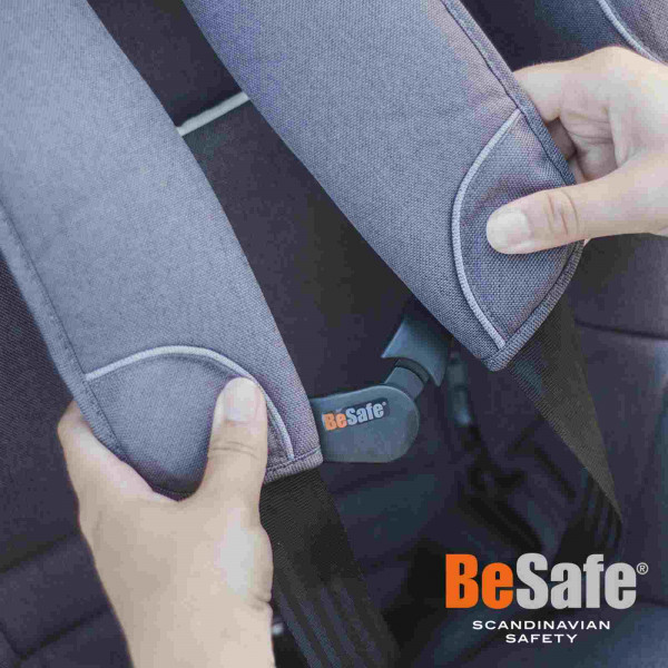 BeSafe Gurtwächter für alle BeSafe Autokindersitze mit intern. Gurtsystem