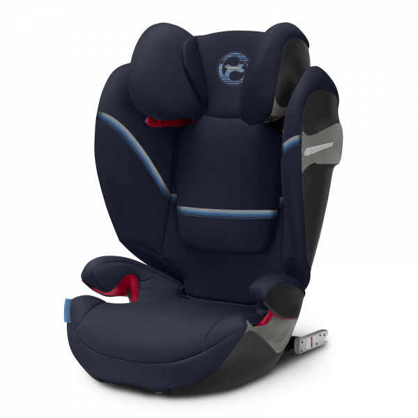 Cybex Solution S Fix Kindersitz - Navy Blue