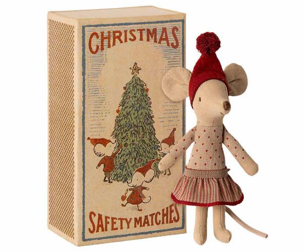 Maileg Weihnachtsmaus in Box, Große Schwester
