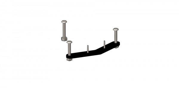 TFK Montagematerial für Gabelaufnahme Vorderrad Twist Modelle