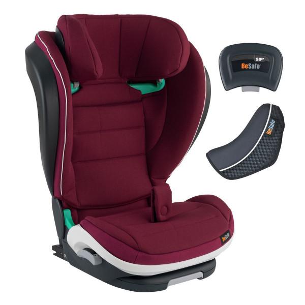 BeSafe iZi Flex FIX i-Size Kindersitz- Burgundy Melange