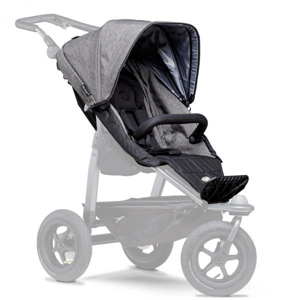 TFK Mono Sportkinderwagensitz- Einhang- Premium Grau