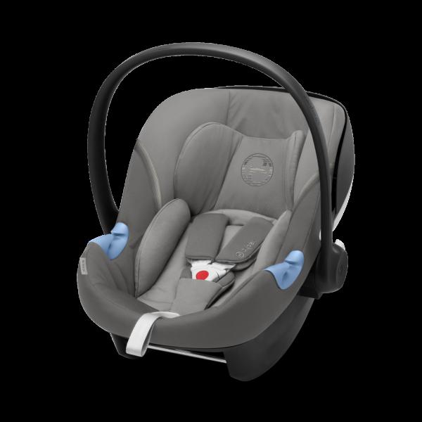 Cybex Aton M i-Size Babyschale - Soho Grey