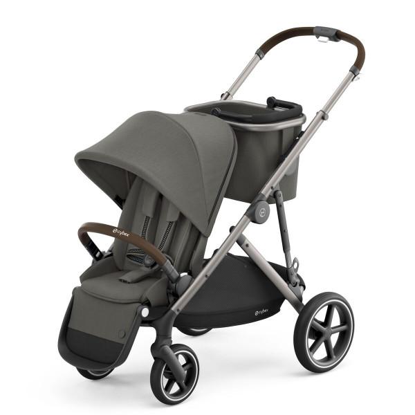 Cybex Gazelle S Kinderwagen- Taupe Gestell- Soho Grey