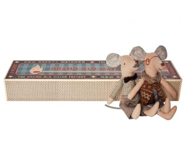 Maileg - Mäuse Oma und Opa in der Box