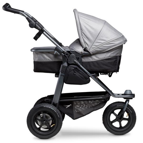 TFK Mono Combi Stroller With Air-Wheel-Set- Grey