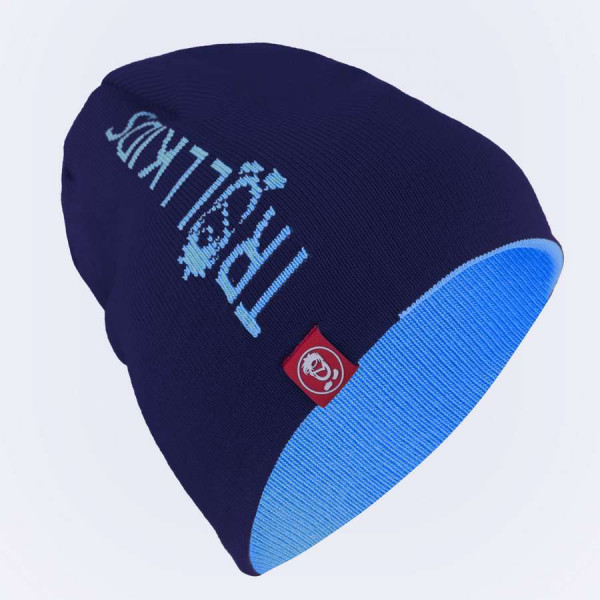 "Trollkids Beanie ""Kids Troll"" - Navy / Medium Blue"