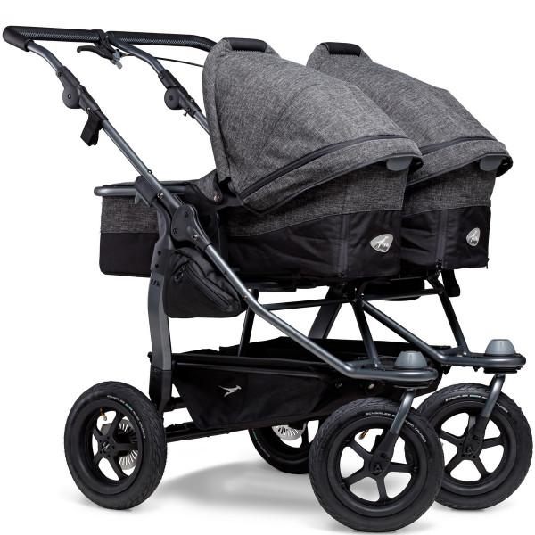 TFK Duo Kombi Kinderwagen mit Luftrad-Set- Premium Anthrazit