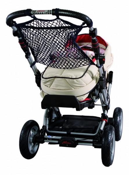 Sunny Baby Universalnetz für Kinderwagen Einkaufsnetz Anker Sichtschutz - Marine