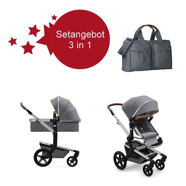 Joolz Day + Setangebot 3 in 1 Gorgeous Grey