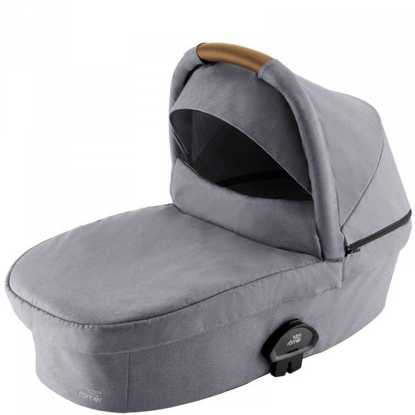 SMILE III Kinderwagenaufsatz - Frost Grey- Brown