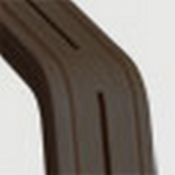 Nomi Hochstuhl Mittelsäule Eiche schwarz lackiert