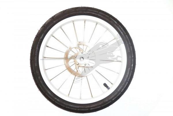 TFK Ersatzteil 16 Hinterrad für Joggster 3 - Stahlfelge silber