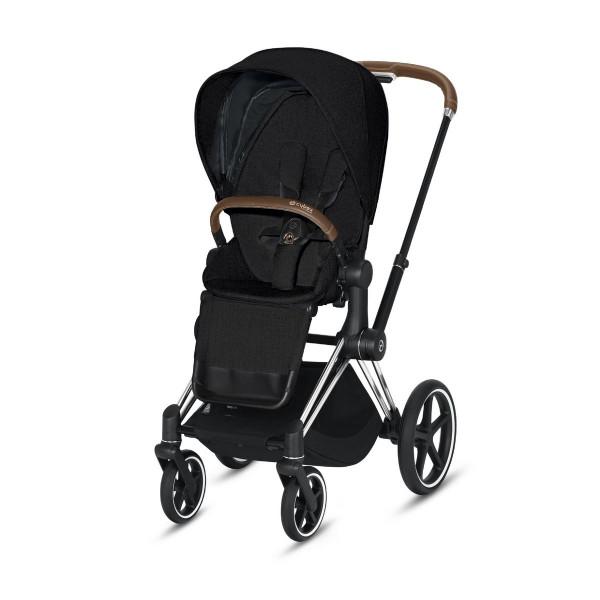 Cybex ePriam Kinderwagen Chrome- Stardust Black Plus