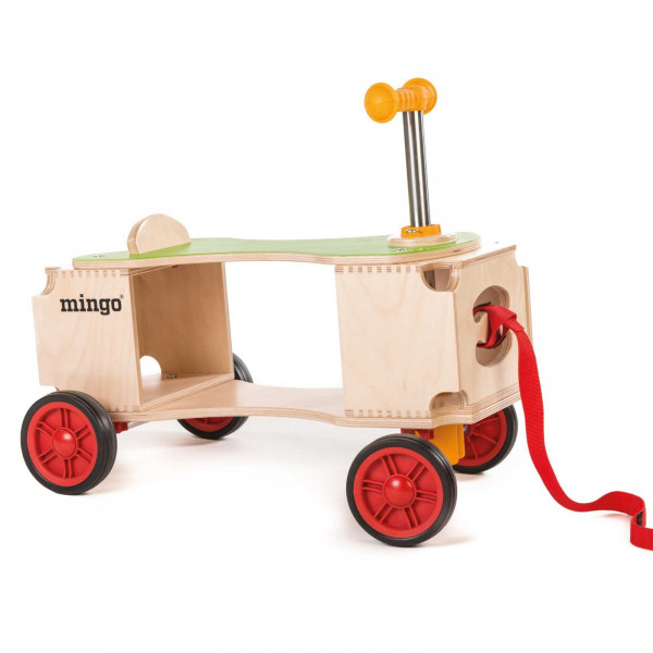 Mingo multivariable ride-on toy
