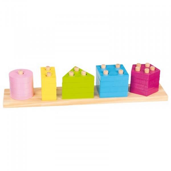 Goki Farben- und Formen Sortierspiel