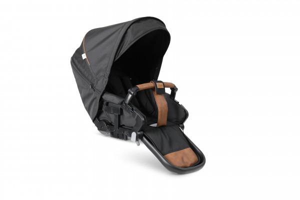 Emmaljunga Sitzteil Flat NXT - Outdoor Black Eco