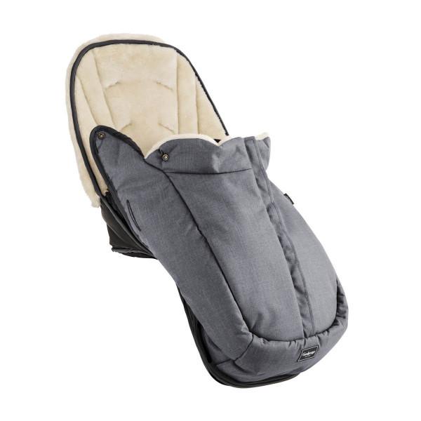 Emmaljunga Fußsack für Ergo Sitz 2021- Lounge Grey