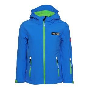 """Trollkids """"Kids Oslofjord Jacket"""" Kinder Softshell-Jacke - Medium Blue"""