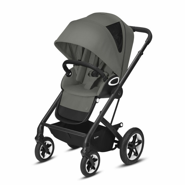 Cybex Talos S Lux BLK Kinderwagen- Soho Grey