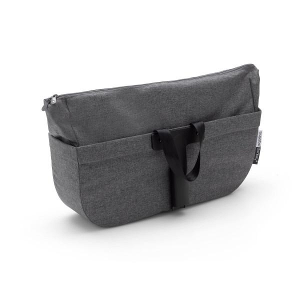Bugaboo Ersatzteil Donkey3 seitliche Gepäcktasche- Grau Meliert