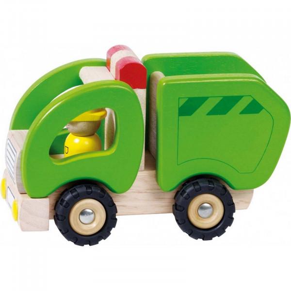GoKi Müllwagen aus Holz