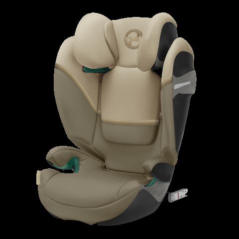 Cybex Solution S Fix Kindersitz - Classic Beige
