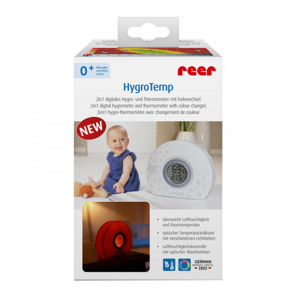 Reer HygroTemp 2in1 digitales Hygro- und Thermometer