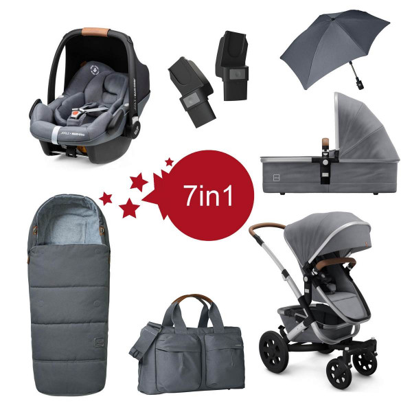 Joolz Geo 2 Setangebot 7 in 1- Gorgeous Grey