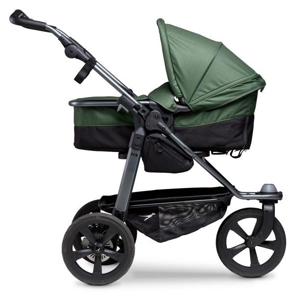 TFK Mono Kombi Kinderwagen mit Luftkammer Radset- Olive