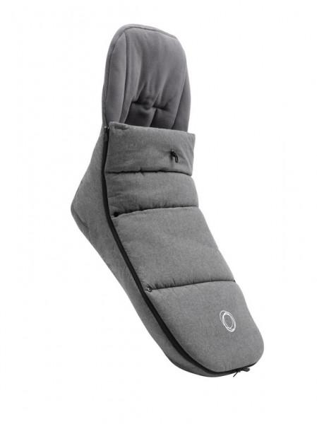 Bugaboo Fußsack für alle Bugaboo Kinderwagensitze - Grey Melange