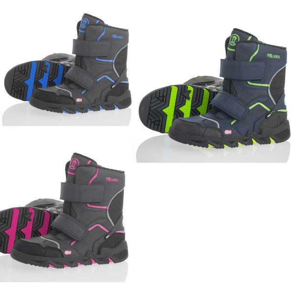 "Trollkids ""Kids Snow Hiker"" Winterschuhe"