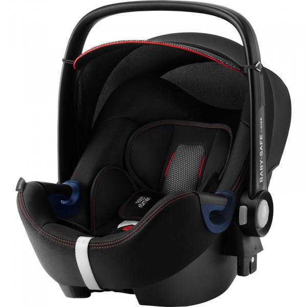 Britax Römer Baby-Safe2 i-Size Babyschale - Cool Flow - Black