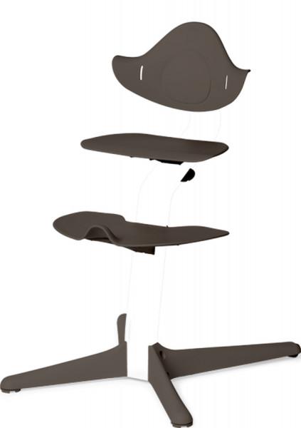 Nomi Hochstuhl Kunststoffelemente - braun