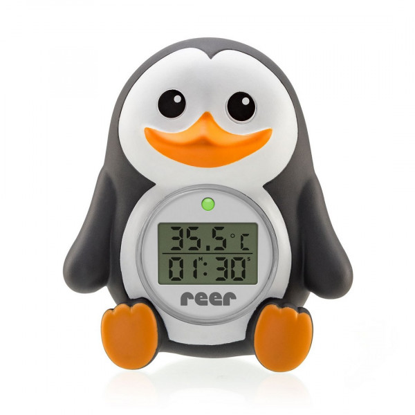 Reer MyHappyPingu 2in1 digitale Badethermometer