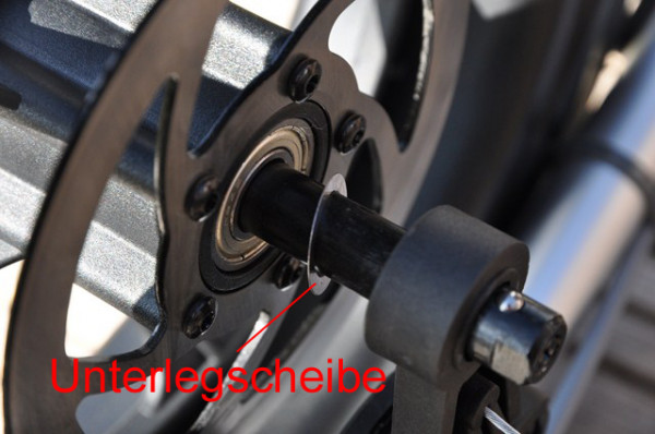 TFK Unterlegscheibe für Bremsbacken-Kunststofffelge