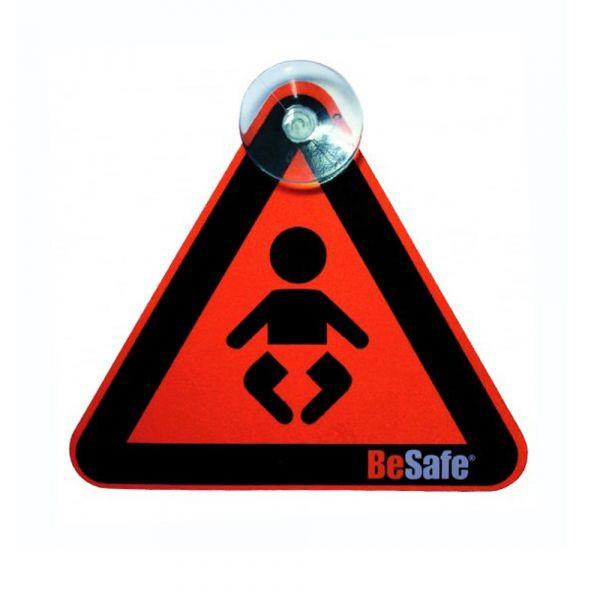 """BeSafe Schild """"Baby on Board"""" - Orange"""