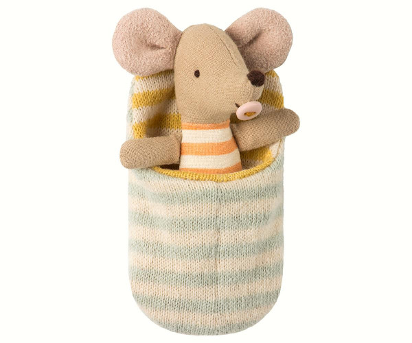 "Maileg Mouse ""Baby-Mouse"" im Schlafsack"