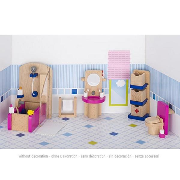 GoKi Puppenmöbel - Badezimmer Puppenhausmöbel
