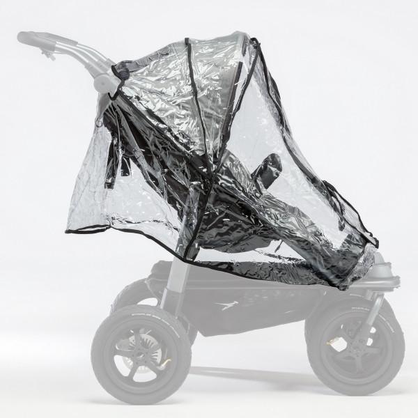 TFK Regenschutz für Duo Sportkinderwagen (2 Einhänge)