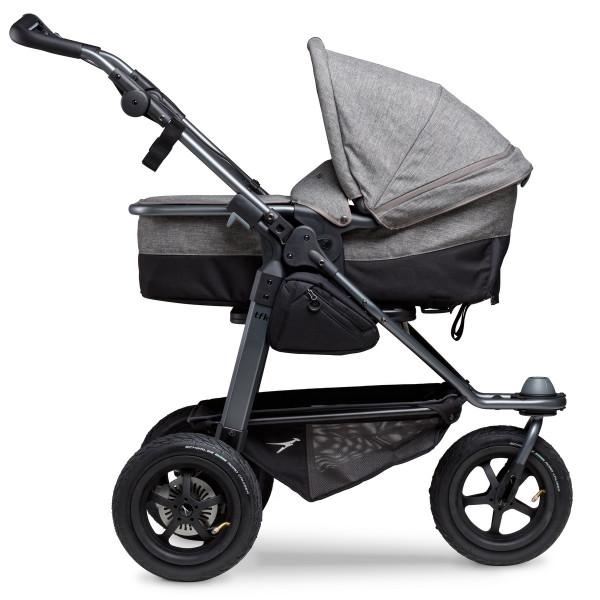 TFK Mono Kombi Kinderwagen mit Luftrad-Set- Premium Grau