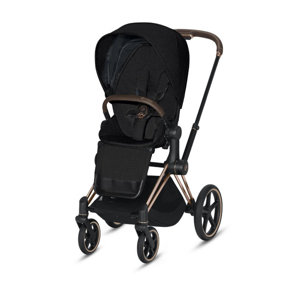 Cybex Priam Sportkinderwagen- Rose Gold- Stardust Black Plus